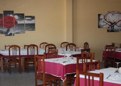 comedor del hotel & restaurante Casa de Juanjo