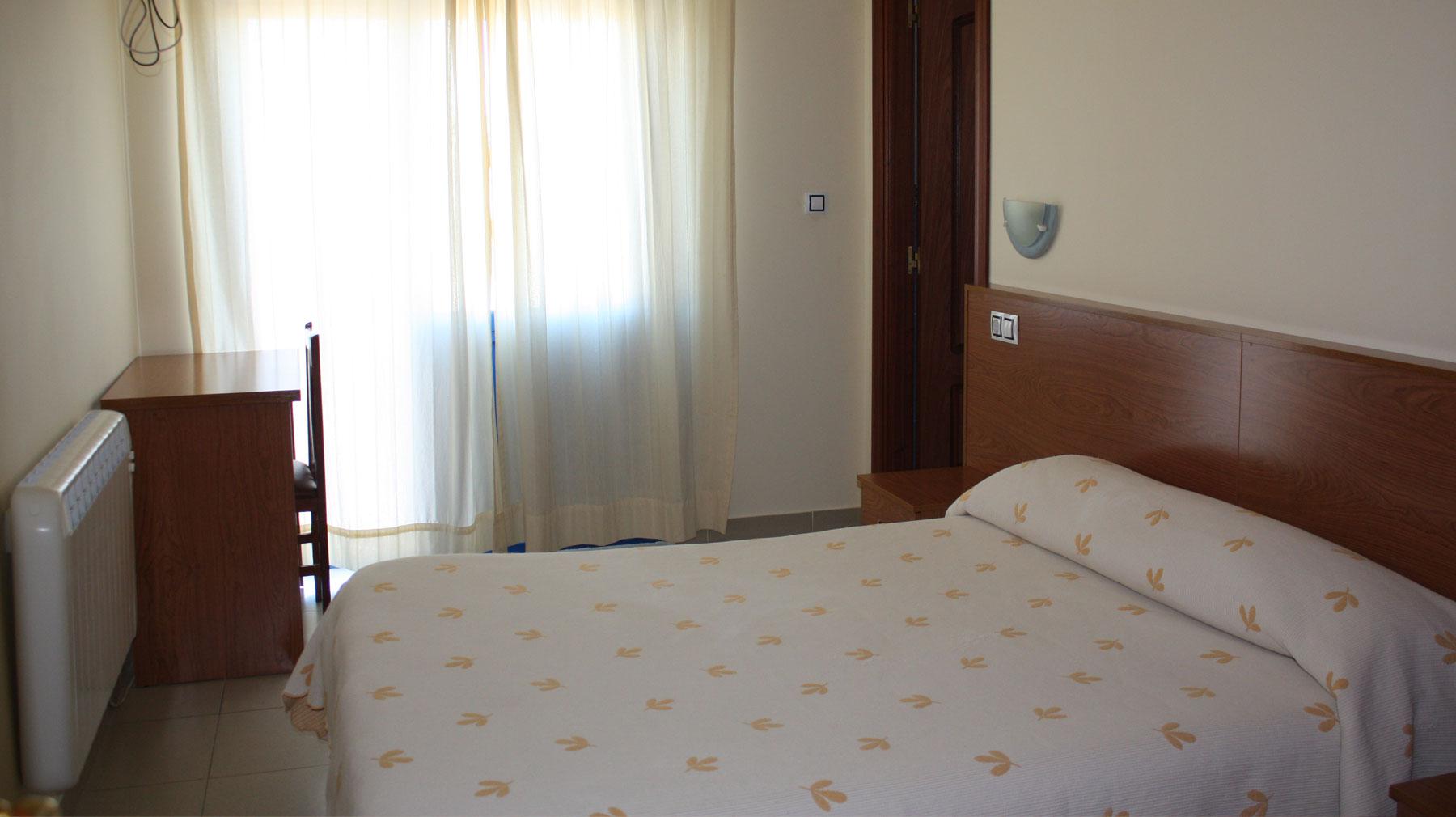habitación del hotel & restaurante Casa de Juanjo