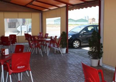 terraza del hotel & restaurante